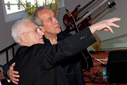 Frank Gehry and Larry Ruvo